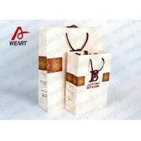 China Medium / Small Gift Package Bag Surface LOGO Printing  With Cotton Hsndle wholesale