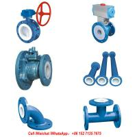 Buy cheap PFTE Lined Ball valve Butterfly valve check valve stop valve Fluorine lined pipe from wholesalers