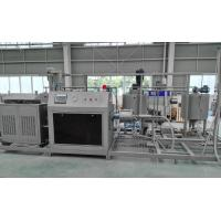 China Professional European Standard Swiss Roll Production Line With Cake Batter Mixer wholesale