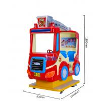 China Electric Racing Car Arcade Kiddie Rides Custom Sticker For Shopping Mall wholesale