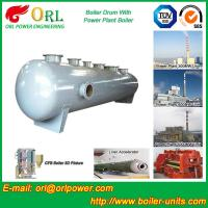 China Waste heat boiler mud drum ORL Power wholesale