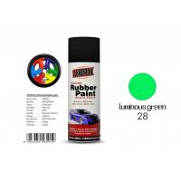 Buy cheap Luminous Green Color Rubber Coat Spray Paint Mixture MSDS Certification APK-8201-27 from wholesalers