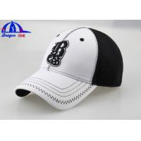 Personalized Summer Womens Baseball Caps / Large Fitted Baseball Hats