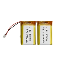 China PL803450 1500mAh 3.7 V Lithium Polymer Battery Within 1C Rate wholesale