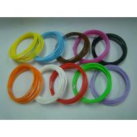 China PLA ABS 3D Printer Filament 1.75mm 3mm / 3d Printing Materials wholesale