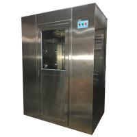 China Full Automatic Workshop Industrial Air Shower Unit Anti - Static For 1 - 2 Person wholesale