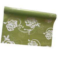 Decoration Gift Wrap Paper Roll / BOPP Floral Wedding Gift Wrapping Paper Rolls
