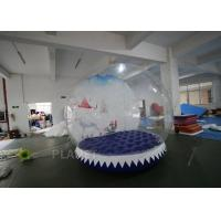 China 3m Inflatable Human Size Snow Globe For Promotion Fire Retardant wholesale