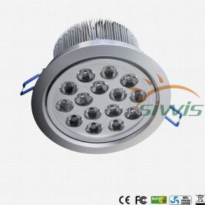 China Edison Cree LED Recessed Downlights 15 Watt , Led Recessed Lighting 3000K wholesale