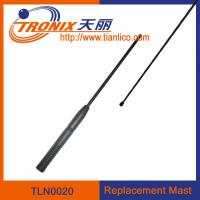 China 1 section mast car antenna/ car replacement mast antenna/ car antenna accessories TLN0020 wholesale