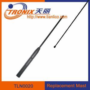 China 1 section mast car antenna/ car replacement mast antenna/ car antenna accessories TLN0020 wholesale