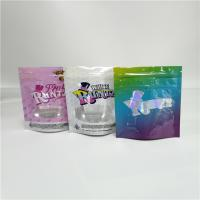China Stand Up Runtz Custom Ziplock Bags Childproof Pouches Herbal Packing With Logo Printing wholesale
