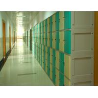 China ABS School Lockers , School Storage Lockers Highly Water Resistant keyless lockset wholesale
