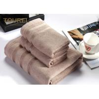 China Extra Large Hotel Bath Towels Easy Care Cotton for Maximum Softness and Absorbency - Gray on sale