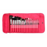 China Extremely Good Professional Makeup Brush Set 18 PCs With Red Pouch wholesale