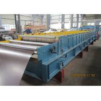 China 235Mpa Feeding Coil 1219mm Width Metal Tile Roll Forming Machine With Stacking Use Panasonic PLC wholesale