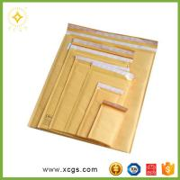 China Gold Jiffy Bags ,Customized Yellow Jiffy Bag Envelopes, Gold Kraft Bubble Mailer wholesale