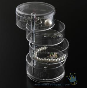 China CB (108) acrylic cosmetic storage drawers wholesale