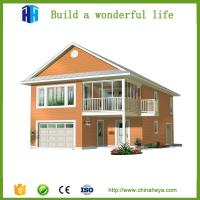 China low cost time-saving pre manufactured homes prefabricated villa wholesale
