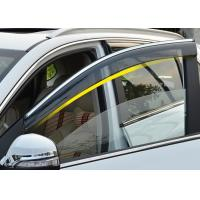 China Injection Molding Window Visors with Trim Stripe For Chery Tiggo5 2014 2016 on sale