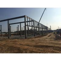 China Easy Installation Steel Structure Workshoop Buildings Customized Design on sale