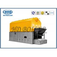 China Double Chain Coal Fired Hot Water Boiler , High Efficiency Steam Boiler SZL Type wholesale