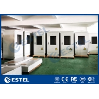 China 2.0KW Cooling Capacity Outdoor Telecom Cabinet Galvanized Steel With Heat Insulation wholesale