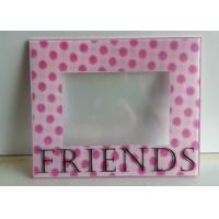 China Decorative 3D Wall Mounted Acrylic Photo Frames With Magnet And Screen Print wholesale
