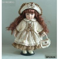 "China 12"" TOY DOLL PORCELAIN DOLL,ceramic doll, gift doll, doll manufacturer, doll OEM, GIRL DOLL wholesale"