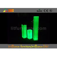 China 16 Colors Changeable Glowing LED Pillars , LED Ice Bucket For Club / Party wholesale