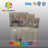 China Custom Printing Paper Snack Bag Packaging , Food Grade Snack Doupack With Ziplock wholesale
