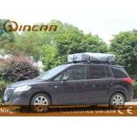 Quality Orange Color Rooftop Vehicle Tents Aluminum Frame With Ladder For Outdoor Camping for sale