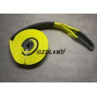China 100% Polyester Truck Snatch Strap Towing Heavy Duty Custom Pickup Truck wholesale