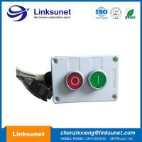 China Two Holes Custom Wiring Harness Processing Plastic Push Button Control Box wholesale