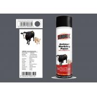China Spray Marking Spray Paint Matt Light Gray Color No Harm For Animal APK-6810-8 wholesale
