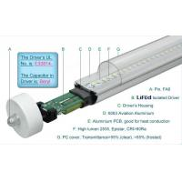 China 1800LM Epistar 4 Foot T8 LED Tube Lights 19W Fa8 Single Pin , LED T8 Replacement Tubes wholesale