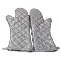 China Safety Heat Proof Oven Mitts , Kitchen Oven Gloves Flexibility Extra Long wholesale