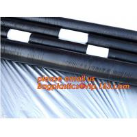 black white plastic mulch film/agricultural anti weed mulch/custom large size