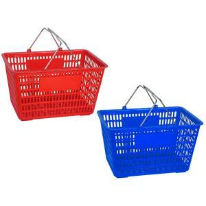 China Single handle Supermarket Shopping Baskets wholesale