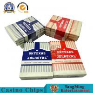China Gambling Games Club UV Sign Casino Playing Cards  57x87 / 63x88mm on sale