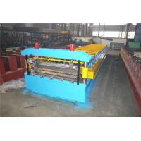China Manual Decoiler Liner Panel Profile Roll Forming Machine 5.5kw Drive By Chain wholesale