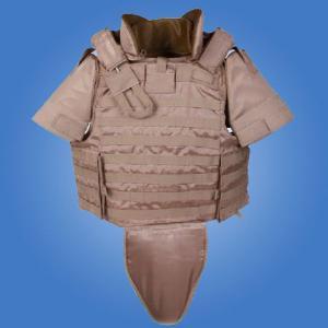 Buy cheap full body armor vest kevlar armor bullet proof vest ballistic vest reporter vest from wholesalers