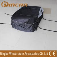 China Dual open Roof Top Cargo Bag , 600D Oxford Polyester Roof Carrier Bag wholesale