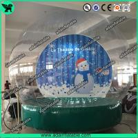 China Christmas Decoration Transparent Snow Ball Event Show Ball Exhibition Balloon wholesale