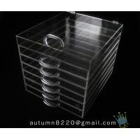 China BO (115) acrylic wine case wholesale