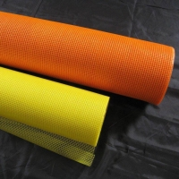 China 4x4mm,165g 2000N Alkali Resistant Fiberglass Mesh used for Construction Material wholesale