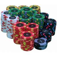 China Custom Plastic Poker Chips on sale
