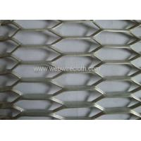 Factory supply hexagonal stainless steel expanded metal