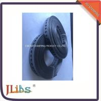 China 0.7mm-0.8mm Thickness Perforated Steel Strapping Straight Banding For Ducts wholesale