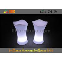 China Lightweight Lighting LED Table And Chairs L48*W45*H75 Cm Eco Friendly wholesale